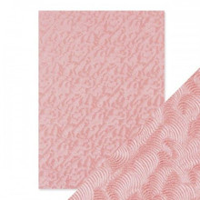 Craft Perfect A4 Handcrafted Cotton Papers - Pink Champagne