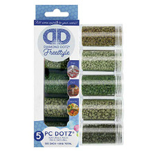 Diamond Art 5pc Naturl Freestyle Sampler, Natural