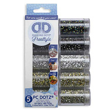 Diamond Art 5pc Metallic Freestyle Sampler
