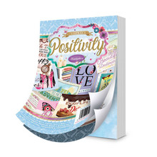 Hunkydory The Little Book A6 Paper Pad - Positivity