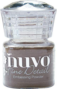 Nuvo Embossing Powder Fine Detail .68oz, Copper Blush
