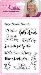 Chloe's Creative Cards - Fashion Sentiments AA4970