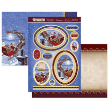 Hunkydory Crafts Christmas 2020 Festive Memories - Santa Claus is Coming to Town