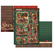 Hunkydory Crafts Christmas 2020 Festive Memories - By the Fireside