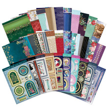Hunkydory Crafts Christmas Sparkle 2020 Luxury Topper Collection -- 10 Topper Sets - ELEG20-101