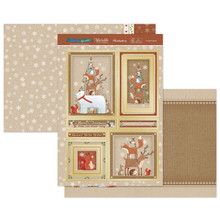 Hunkydory Crafts Christmas 2020 Christmas Sparkle - Forest Friends