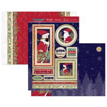 Hunkydory Crafts Christmas 2020 Christmas Sparkle - Father Christmas