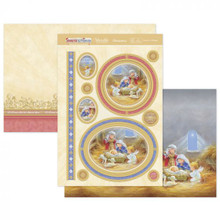 Hunkydory Crafts Christmas 2020 Santa & Friends - Away in a Manger