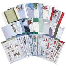 Hunkydory Crafts Winter Wishes 2020 Luxury Topper Collection -- 10 Topper Sets - SNOWY20-101