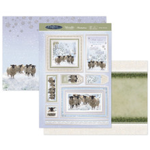 Hunkydory Crafts Christmas 2020 WInter WIshes- Winter Woolies SNOWY-910