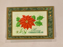 Live Stream 7-2-2020 4:00 PM PacificTime Stamping Class - Poinsettia and Holly