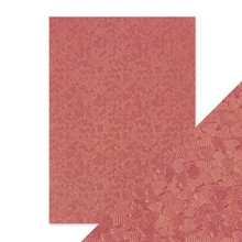 Craft Perfect A4 Handcrafted Cotton Papers - Coral Confetti