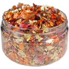 Cosmic Shimmer Gilding Flakes 100ml Pot - Red Blaze