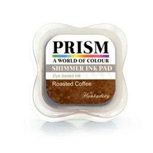 Hunkydory Prism Shimmer Ink Pad- Roasted Coffee