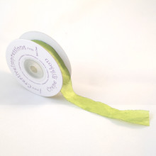 "Creative Impressions Crepe Ribbon 3/4"" X 25 Yards - Celery"