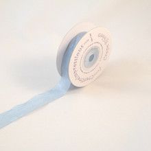 "Creative Impressions Crepe Ribbon 3/4"" X 25 Yards - Pastel Blue"