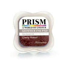 Hunkydory Prism Shimmer Ink Pad- Cherry Walnut