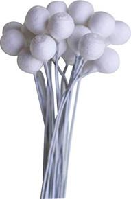 Dress My Craft Foam Flower Buds 20/Pkg-8mm Round, Multi