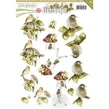 Find It Trading SB10081 21 Punchouts Springtime Precious Marieke Punchout Sheet, Multicolor