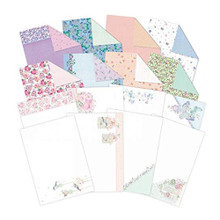Hunkydory Crafts Gardener s Paradise Inserts & Paper Pack for Cards A4 Sheets