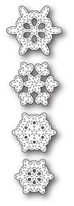 Memory Box 100% Steel Batavia Stitched Snowflakes 99813