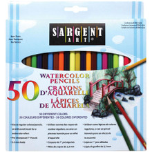 Sargent Art Watercolor Pencils- 50 colors