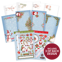 Hunkydory Frosty Friends Concept Card Collection FROSTY101