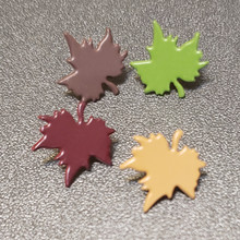 Creative Impressions- Maple Leaf Assortment Fasteners (50)- 90632