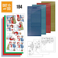 Find It Trading Dot and Do Card Kit - Bubbly Girls Christmas- DODO184