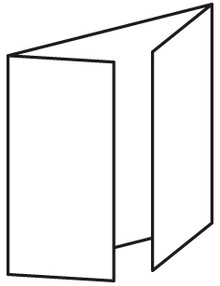 Craft Style Products- European A6 (aka-C6) Gate Fold Card Blanks & Envelopes- white 10 pack