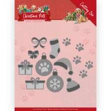 Amy Design Cutting Die - Christmas Pets - CHristmas Decorations ADD10215