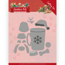 Amy Design Cutting Die - Christmas Pets - Christmas Dog ADD10213