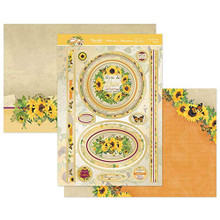 Hunkydory Crafts- Forever Florals Sunflower- Sunnier Days Ahead Topper Set- FFSUN903