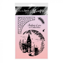 Hunkydory For the Love of Stamps- Church in the Snow - A6 Stamp Set