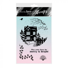 Hunkydory For the Love of Stamps- Home for Christmas - A6 Stamp Set
