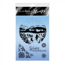Hunkydory For the Love of Stamps- Fun on the Ice - A6 Stamp Set