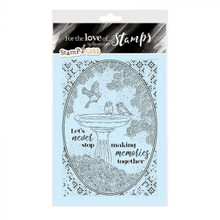 Hunkydory For the Love of Stamps- A Refreshing Dip - A6 Stamp Set