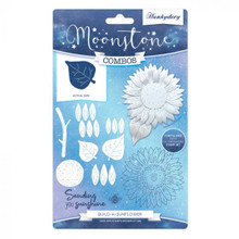 Hunkydory Moonstone Combo (Includes Stamps and Dies)- Build-A-Sunflower- MSTONE223