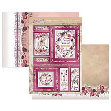 Hunkydory Crafts- Bohemian Bliss- Just Believe Luxury Topper Set- BLISS903