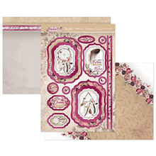 Hunkydory Crafts- Bohemian Bliss- to Catch a Dream Topper Collection- BLISS904