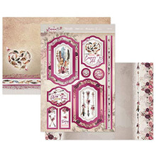 Hunkydory Crafts- Bohemian Bliss- Fly Free Luxury Topper Set- BLISS902