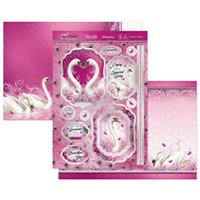 Hunkydory Crafts- Rose Quartz Dreams- Wishes on Wings Luxury Topper Set- ROSEQ904