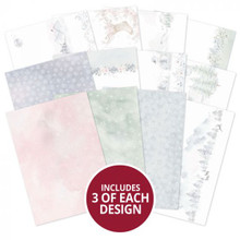 Hunkydory Crafts- Winter Forest Luxury Inserts- WFOREST102