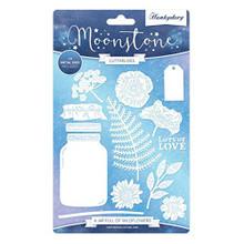 Hunkydory Moonstone Cutting Dies- A Jar Full of Wildflowers MSTONE237