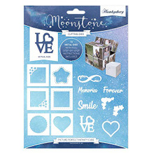 Hunkydory Moonstone Cutting Die- Picture Perfect Infinity Cube