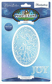 Hunkydory Moonstone Die- Peace on Earth - Angel MSTONE224