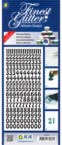 JeJe Double-Sided Adhesive Stickers- Number Stickers 4.0342