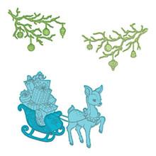 Heartfelt Creations Cut & Emboss Dies-Merry Little Christmas
