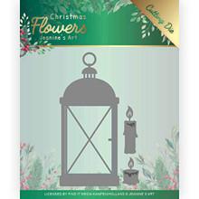 Find It Trading Jeanine's Art Christmas Flowers- Christmas Lantern Cutting Die Set JAD10104