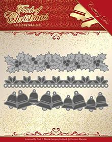 Precious Marieke- Touch of Christmas- Christmas Borders Die- PM10186